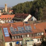 Bubenreuth Photovoltaik in der Geigenbauersiedlung Mehrfamilienhaus