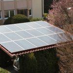 REC Module bringen bei difusen Licht schon ordentlich Leistung! Nordausrichtung des Daches, Photovoltaik wirtschaftlich betreiben.