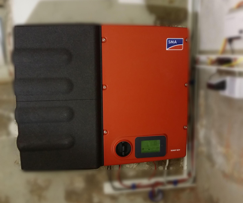 Eine runde Sache mit Stromspeicher von SMA