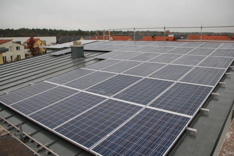Photovoltaikanlage in Nordausrichtung mit großem Potential