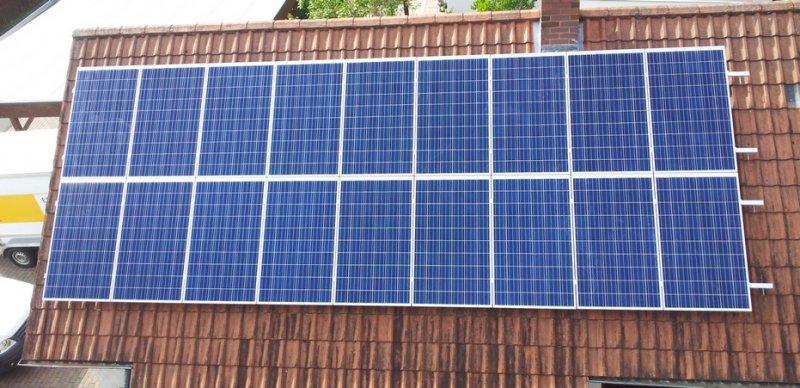 Photovoltaikanlage in Heßdorf