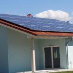 Fertig ist die Photovoltaikanlage auf dem Dach
