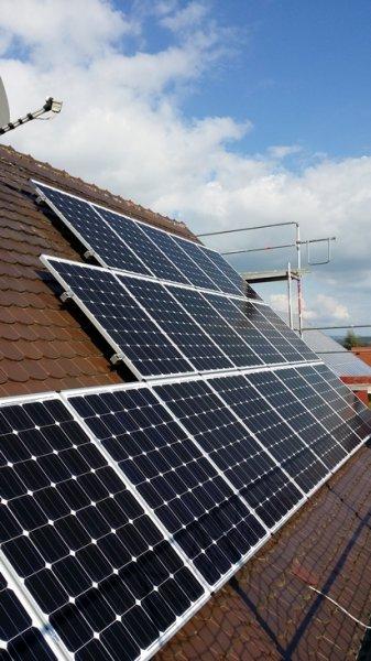 Photovoltaikanlage in Hausen