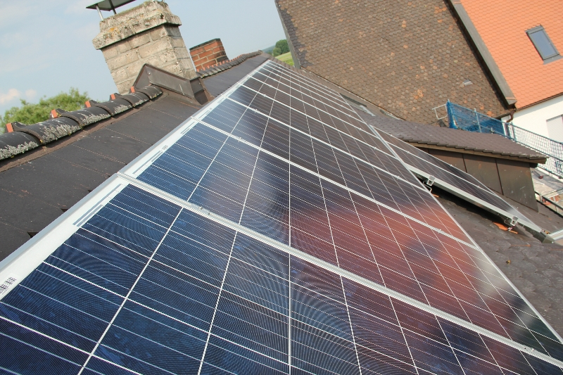 Höchstadt Photovoltaik Einfamilienhaus 3 kWP
