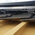 Das brandneue Dach wird sofort mit den Modulen belegt