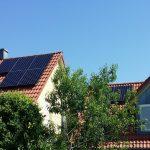Gesamtansicht der Solaranlage in Höchstadt