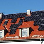 Die fertige Photovoltaikanlage in Nürnberg - geplant und umgesetzt vom Fachmann aus der Region